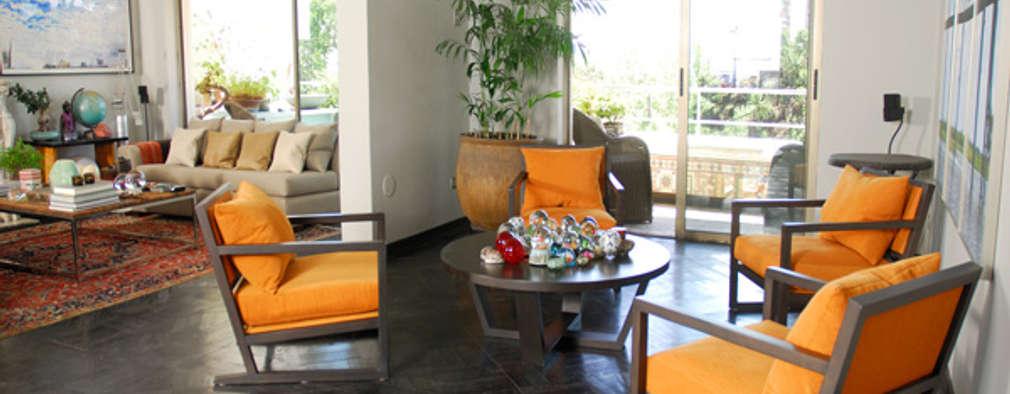Living: Livings de estilo ecléctico por Francisco Vicuña Balaresque