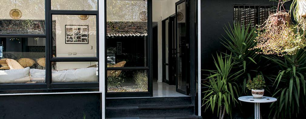 Contra Fachada : Oficinas y Comercios de estilo  por Francisco Vicuña Balaresque