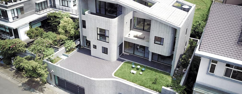 منازل تنفيذ 行一建築 _ Yuan Architects