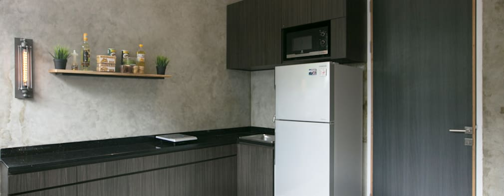 Cipaganti Studio House:  Dapur by INK DESIGN STUDIO