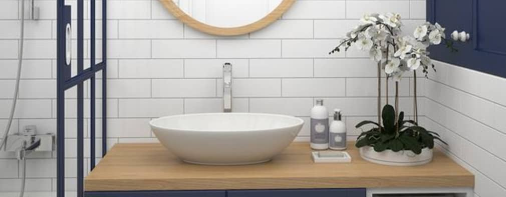 Inspiración para baño:  de estilo  por Vero Capotosto