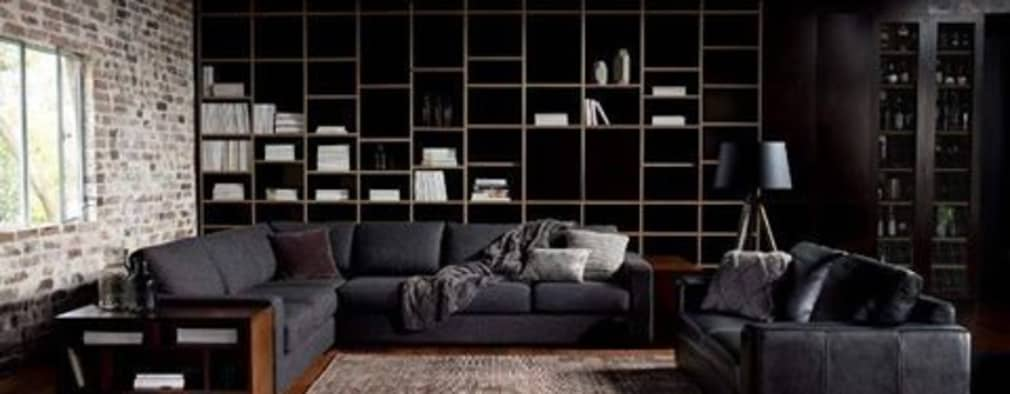 Wood on Black:   by Spacio Collections
