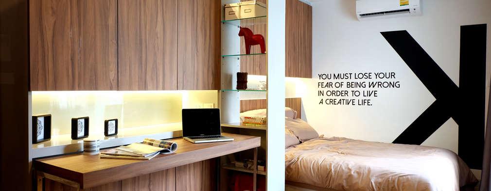 สไตล์มินิมอลโมเดิร์น:   by Knock door interior design & decoration