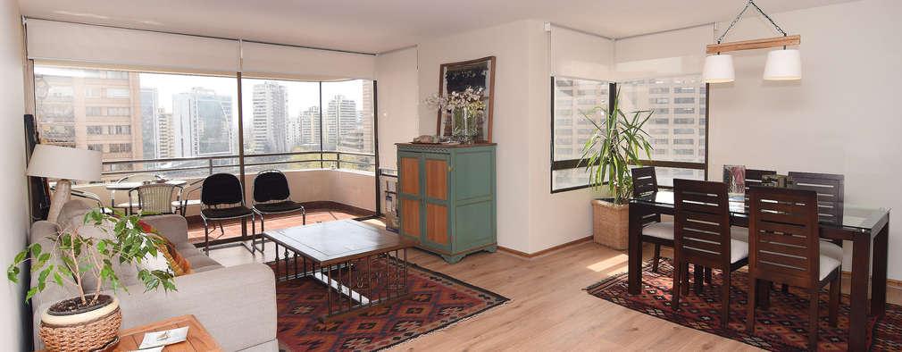 Remodelación Depto Floody: Livings de estilo moderno por ARCOP Arquitectura & Construcción
