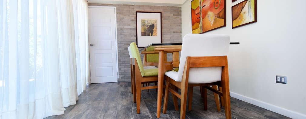 Remodelación Casa Soler: Comedores de estilo moderno por ARCOP Arquitectura & Construcción
