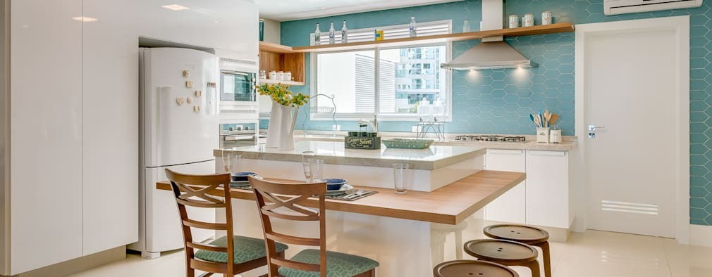 وحدات مطبخ تنفيذ Estúdio Pantarolli Miranda - Arquitetura, Design e Arte