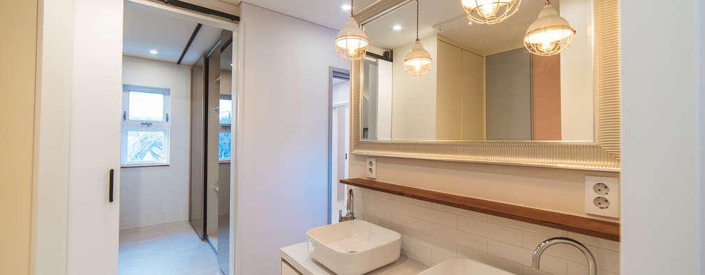 Phòng tắm by AAPA건축사사무소
