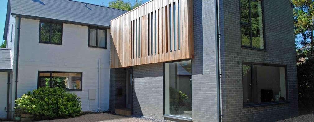 moderner anbau f r ein klassisches einfamilienhaus. Black Bedroom Furniture Sets. Home Design Ideas