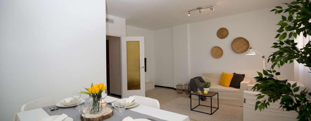 Apartamento t2 decorado com gosto e eleg ncia for Apartamentos modernos decorados