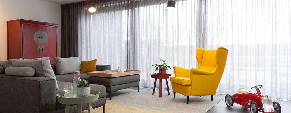 Projekty,  Salon zaprojektowane przez Inspiring Concepts
