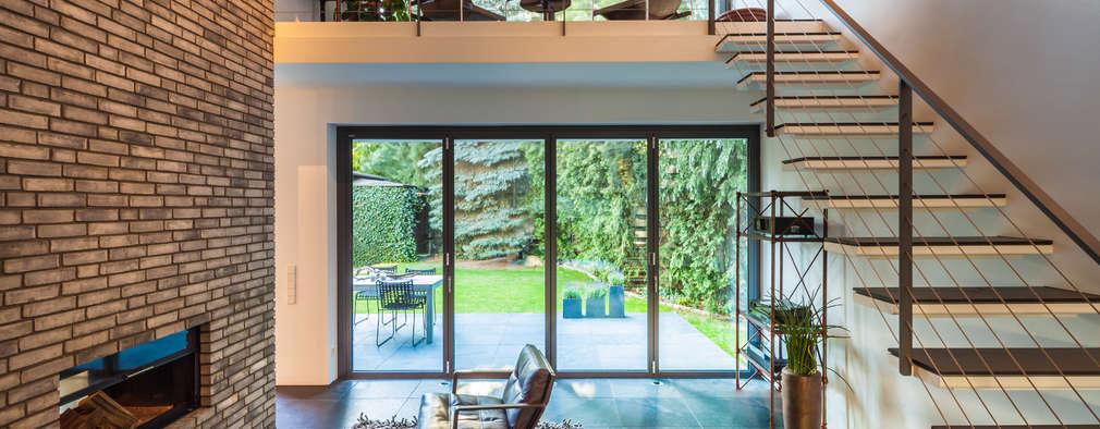 modern Living room by Sieckmann Walther Architekten