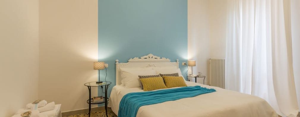 mediterranean Bedroom by Anna Leone Architetto Home Stager