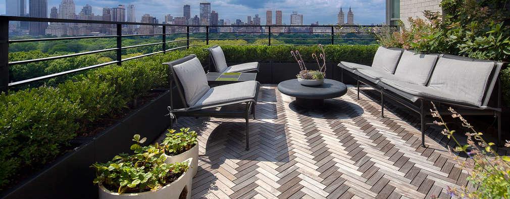 Upper East Side Apartment:  Patios & Decks by andretchelistcheffarchitects