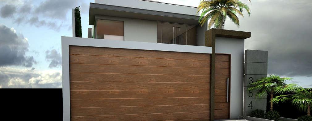 Moderne Garage U0026 Schuppen Von Soluciones Técnicas Y De Arquitectura
