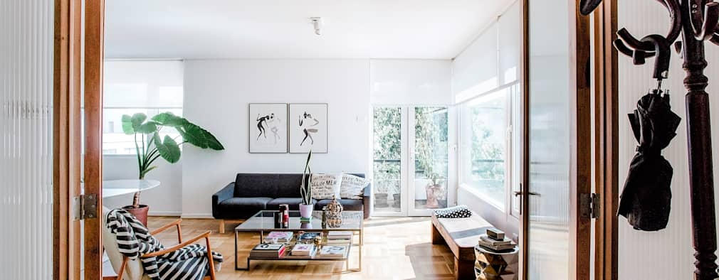 Livings de estilo moderno por homify