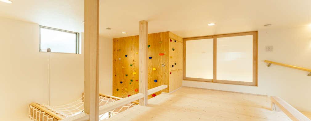 ロフト: 株式会社かんくう建築デザインが手掛けた子供部屋です。