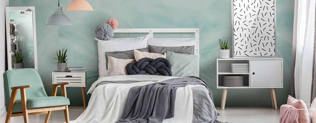 Dormitorios de estilo escandinavo de Pixers