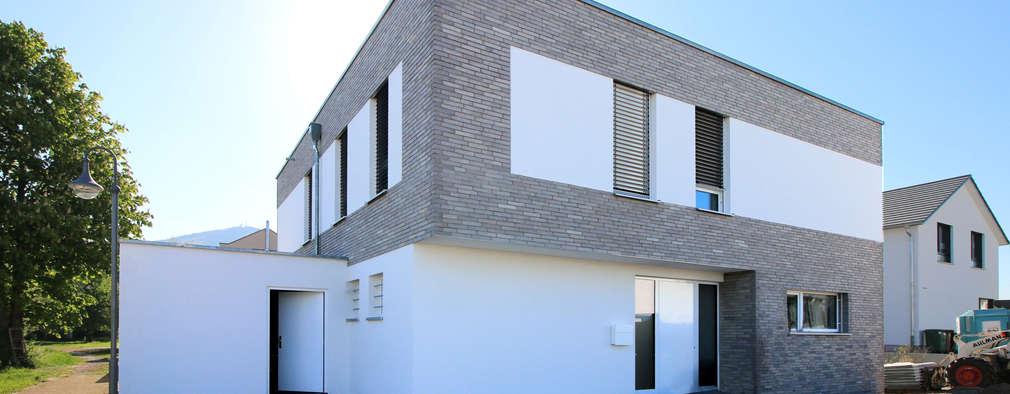 Architektenhaus an der Bergstraße: moderne Häuser von Karl Kaffenberger Architektur | Einrichtung