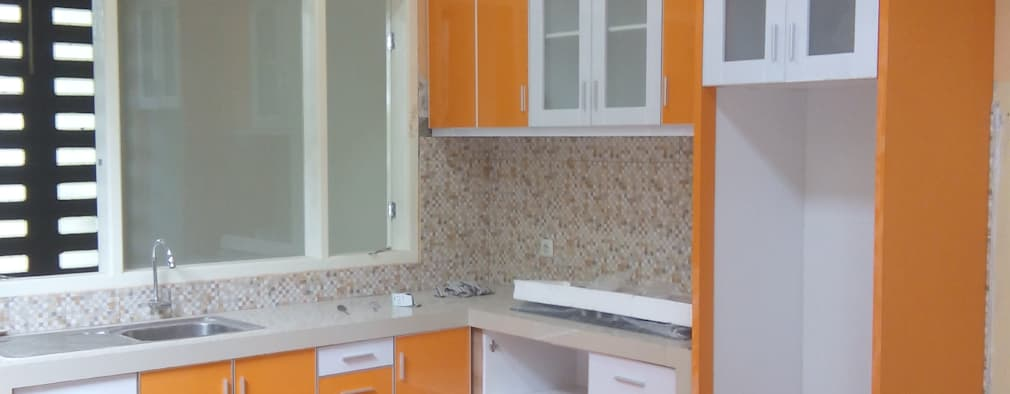 Kitchen Set Perumahan Pondok Nirwana Malang:   by  the OWL