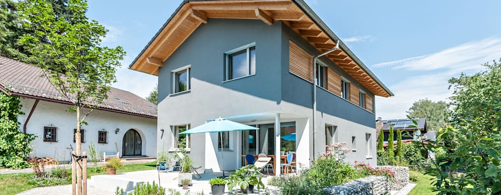 Rumah pasif by Architekturbüro Schaub