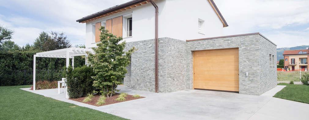 Una casa rurale con interni moderni vicenza - Casa interni moderni ...