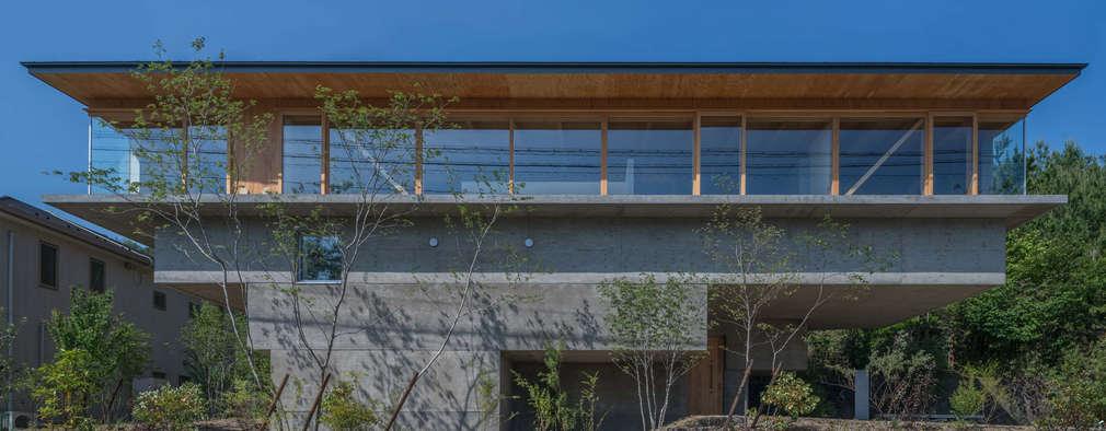 外観: KEITARO MUTO ARCHITECTSが手掛けた家です。