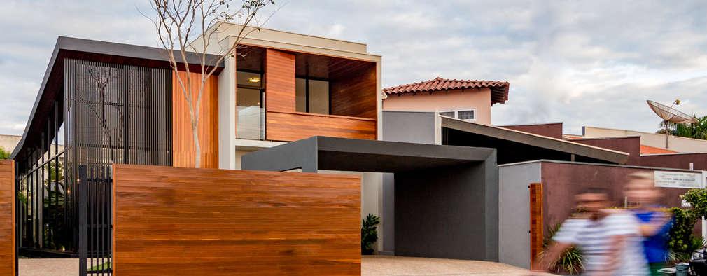 Casa moderna com rea social e rea de lazer fant sticas for Casas modernas granada