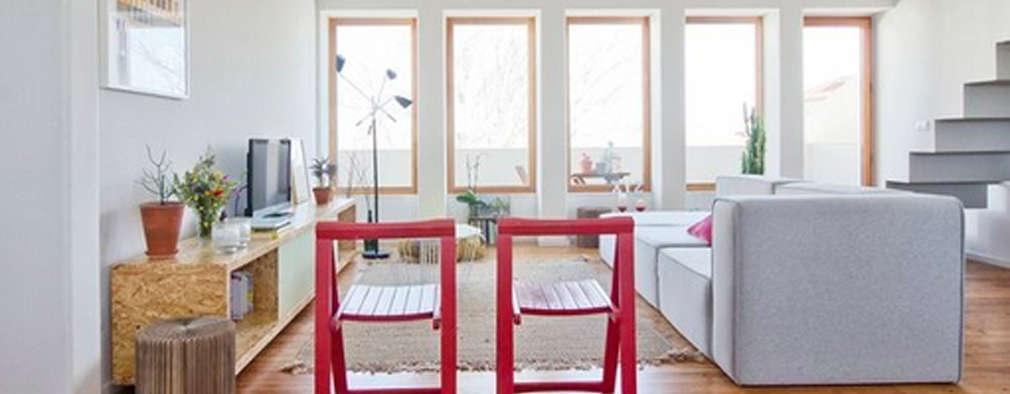 Salas de estar modernas por homify