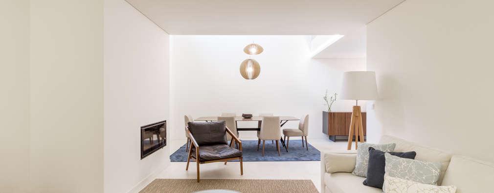 Una casa minimalista perfetta in total white for Idee casa minimalista