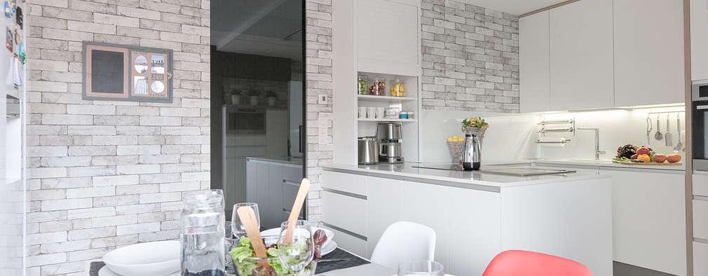 10 revestimientos para las paredes de la cocina for Recubrimiento para azulejos