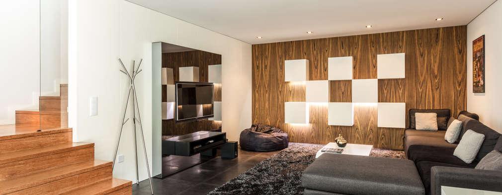 Projekty,  Pokój multimedialny zaprojektowane przez João Boullosa
