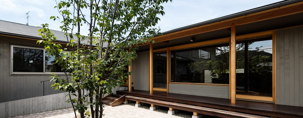 庭院 by 神家昭雄建築研究室