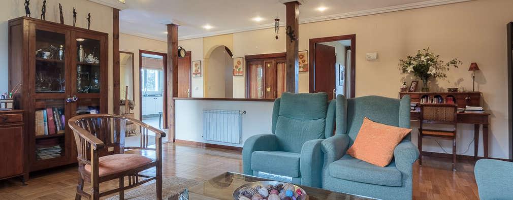 una casa semplice ma calda e accogliente