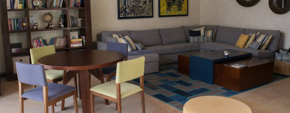 25 salas que te van a inspirar si tu casa es peque a - Ver decoracion de casas ...