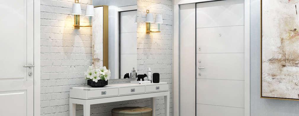 10 tolle ideen f r die w nde im eingang. Black Bedroom Furniture Sets. Home Design Ideas