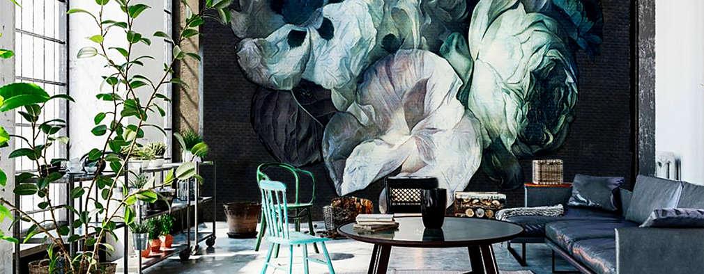 Fleur #160901 Wallpaper:  Muren door La Aurelia