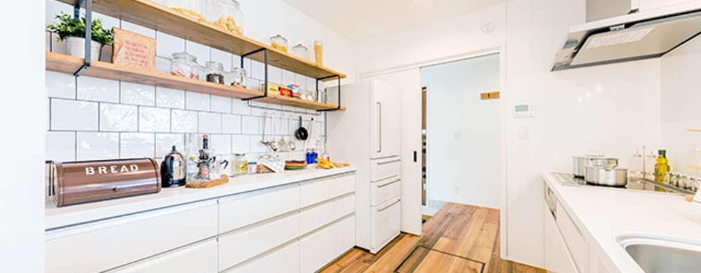 850万円からはじめる新築一戸建て CUBIC(キュービック): オレンジハウスが手掛けたキッチン収納です。