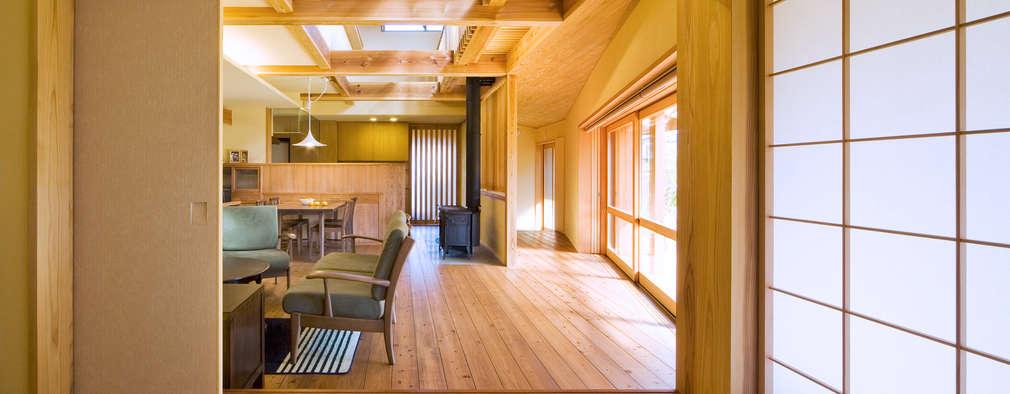 かずのいえ: 株式会社 自由工房が手掛けた和室です。