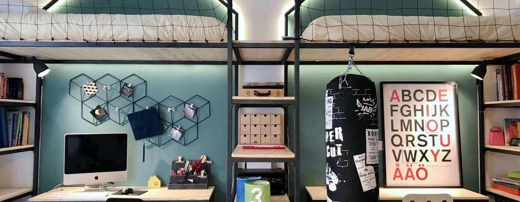 Спальни для мальчиков в . Автор – Home Lifting
