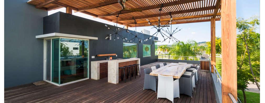 Insp rate a dise ar tu terraza en la azotea con estas for Toldos para terrazas en azoteas