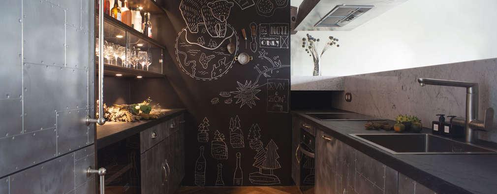 industriële Keuken door Archventil - Architecture and Design Studio