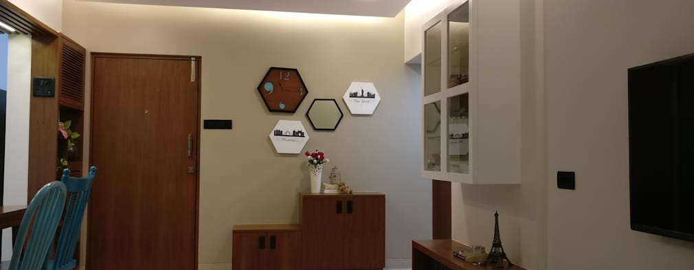 A well designed and delightful home in mumbai for Room design mahim