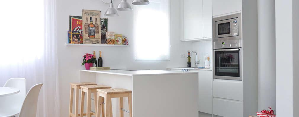 Appartamento Di Luce   Bolzano: Cucina Attrezzata In Stile Di BGP Studio