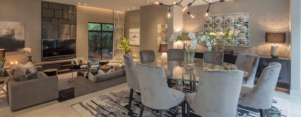 : modern Dining room by Spegash Interiors