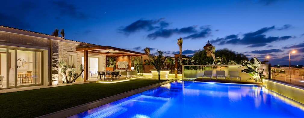 فيلا تنفيذ Hossam Nabil - Architects & Designers