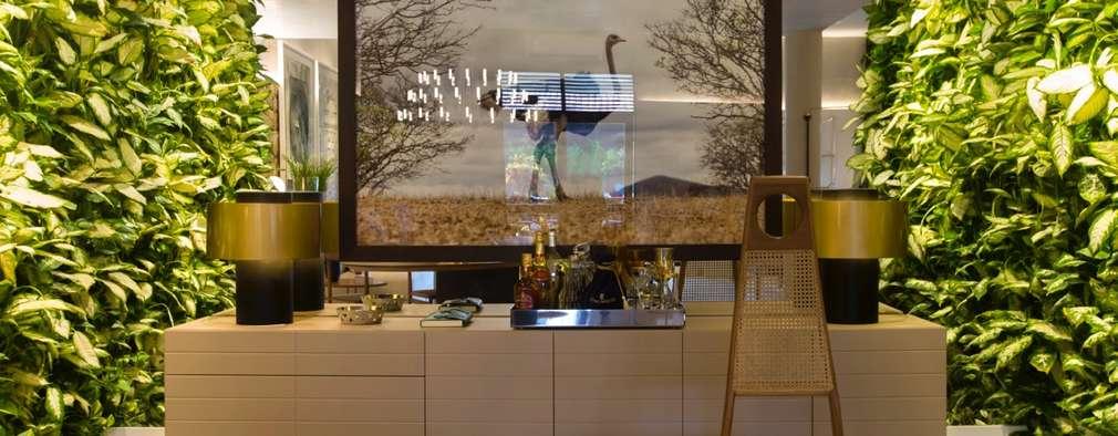 modern Conservatory by Rodrigo Maia Arquitetura + Design