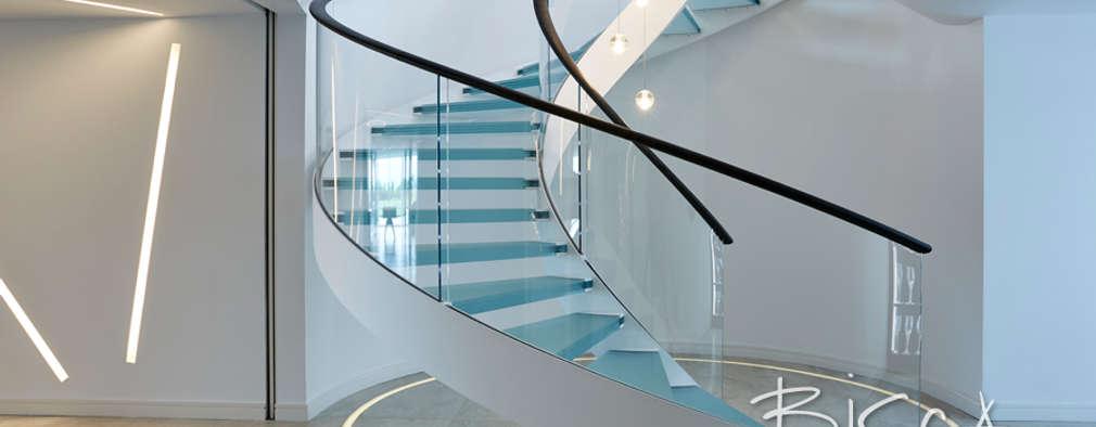 Лестницы в . Автор – Bisca Staircases