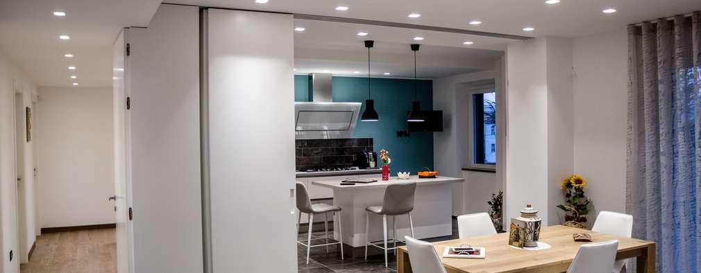 6 ideas fant sticas para separar la cocina del sal n - Separacion cocina salon ...