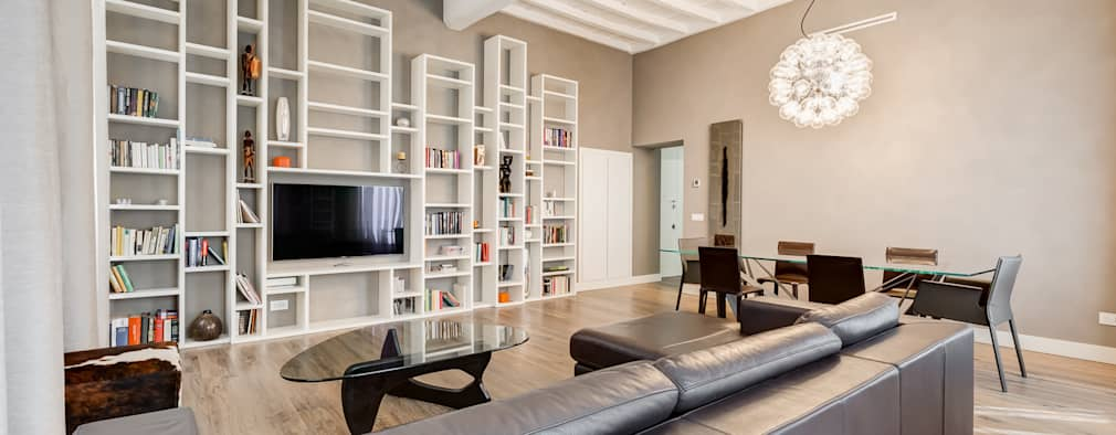 Un Appartamento Ristrutturato in Stile Contemporaneo da Capogiro (Roma)