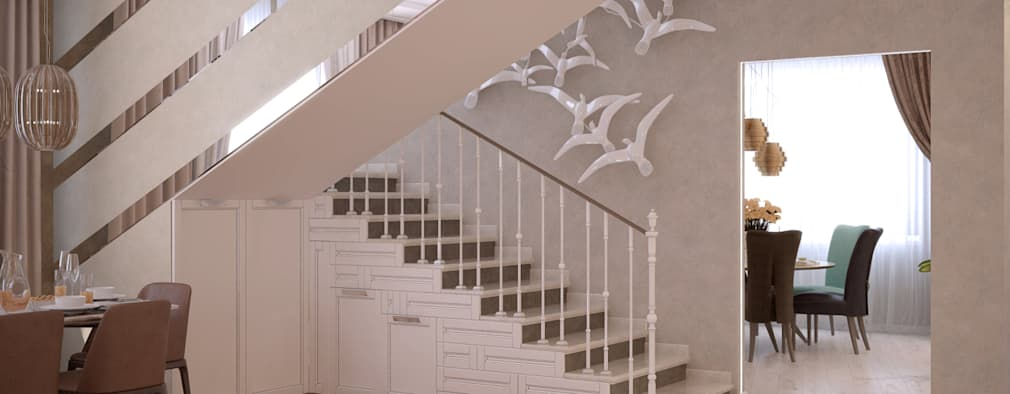 13 ideas para decorar las escaleras que te van a fascinar for Ideas para decorar escaleras